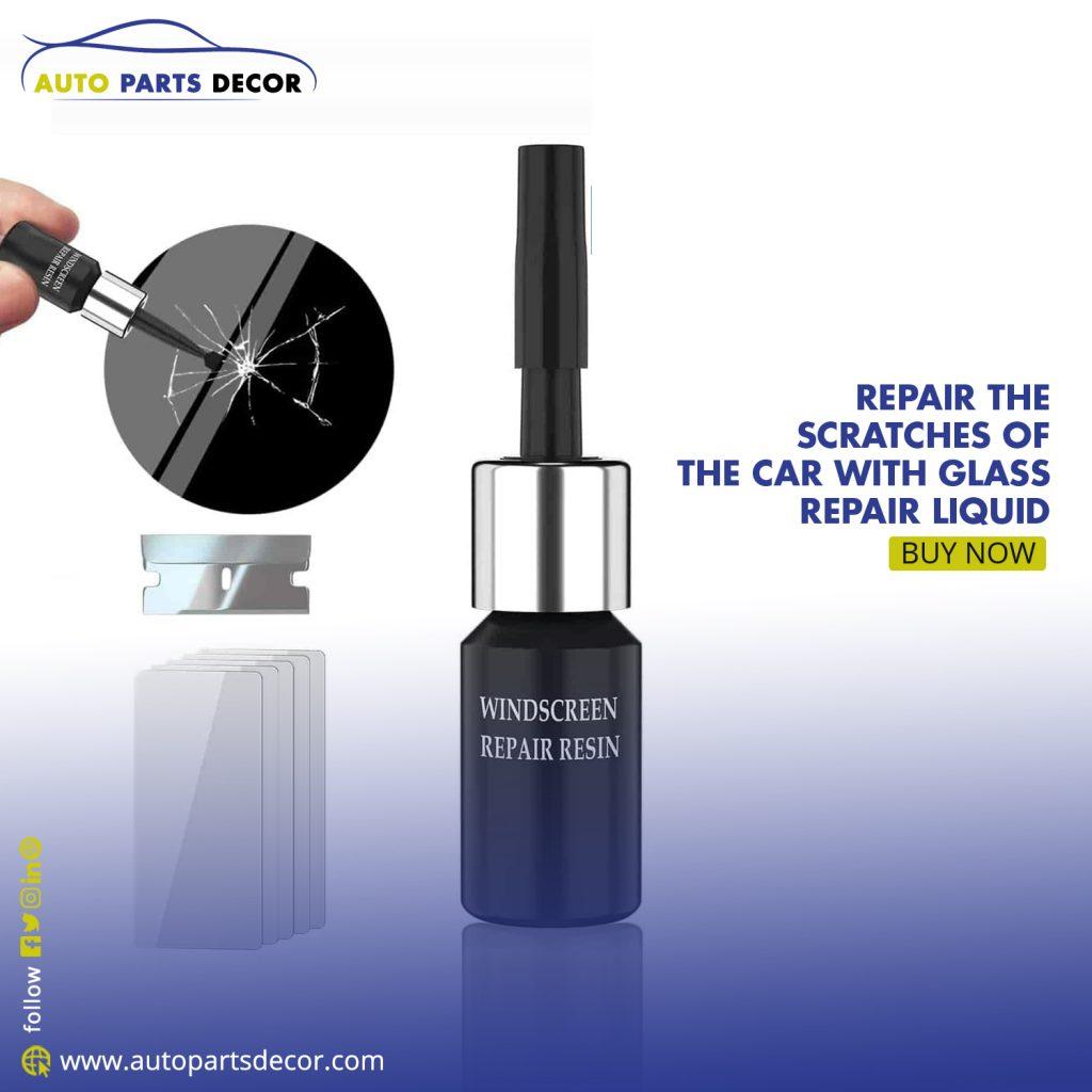 Glass Crack Repair Liquid