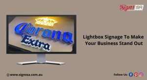 lightbox signs in Adelaide